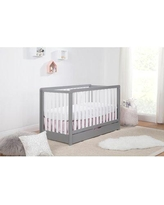 Carter's by DaVinci Colby 4-in-1 Convertible Crib with Storage F11951 Color: Gray/White