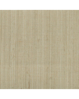 Kenneth James Ruslan Grey Grasscloth Wallpaper Sample