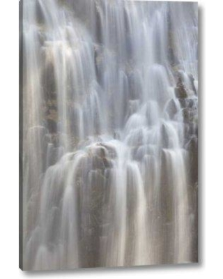 """Millwood Pines 'Wa Cascades Np Waterfall on Agnes Gorge Trail' Photographic Print on Wrapped Canvas BF152239 Size: 24"""" H x 16"""" W x 1.5"""" D"""