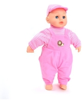 WonderPlay 14'' Pink Outfit Interactive Doll - Pink