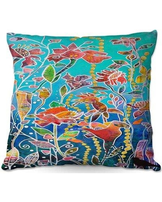 """Ebern Designs Rempe Couch Only Imagine Throw Pillow X112775762 Size: 20"""" x 20"""""""