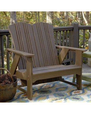 Uwharrie Chair Carolina Preserves Garden Bench C051-0 Color: Persimmon (Distressed)