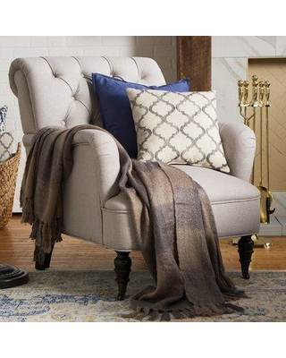 Amazing Deal On Three Posts Leon Armchair Fabric Natural