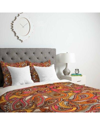 East Urban Home Spring Paisley Duvet Cover BNGL4089 Size: Queen Fabric: Lightweight