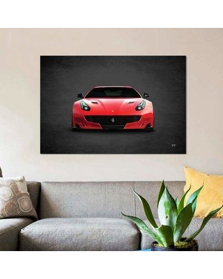 """East Urban Home 'Ferrari FF' Graphic Art on Wrapped Canvas EBHV1589 Size: 12"""" H x 18"""" W x 1.5"""" D"""
