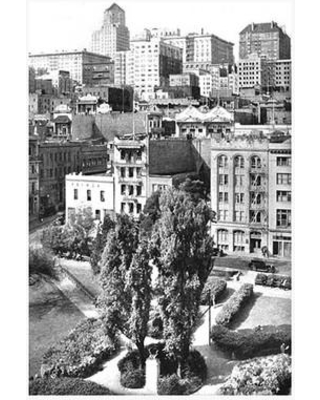 """Buyenlarge 'Portsmouth Square San Francisco CA' Photographic Print 0-587-09232-7 Size: 36"""" H x 24"""" W x 1.5"""" D"""