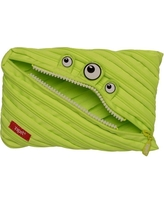 Monster Jumbo Pouch - Lime