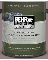 New Deal For Behr Ultra 1 Qt 730b 5 Warm Embrace Extra Durable Flat Interior Paint And Primer In One