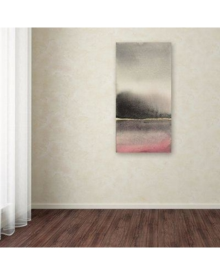 """Wrought Studio 'After the Storm I' Print on Wrapped Canvas WRSD1971 Size: 24"""" H x 12"""" W"""