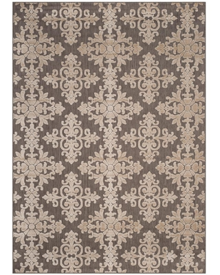Safavieh Cottage Taupe 9 ft. x 12 ft. Indoor/Outdoor Area Rug, Brown