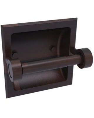 Allied Brass Continental Recessed Wall Mount Toilet Paper Holder 2024-C- Finish: Venetian Bronze