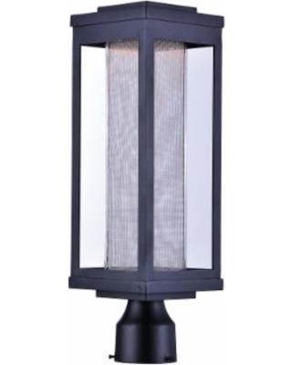 Maxim Lighting Salon Led 19 Inch Tall 1 Light LED Outdoor Post Lamp - 55900MSCBK