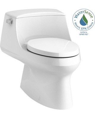 Excellent Kohler Kohler San Raphael 1 Piece 1 28 Gpf Single Flush Elongated Toilet With Left Hand Trip Lever In White From Home Depot People Inzonedesignstudio Interior Chair Design Inzonedesignstudiocom