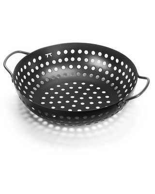 Round Grill Wok - Outset, Grill Cookware