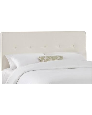 Skyline Furniture Upholstered Panel Headboard Size: King Upholstery: Talc