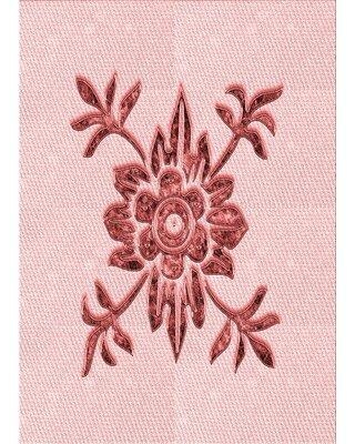 East Urban Home Gosling Wool Red Area Rug W001909558 Rug Size: Rectangle 2' x 4'