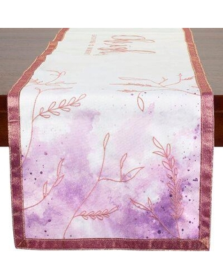 Precious Moments Cherish Each Precious Moment Polyester Table Runner 191442