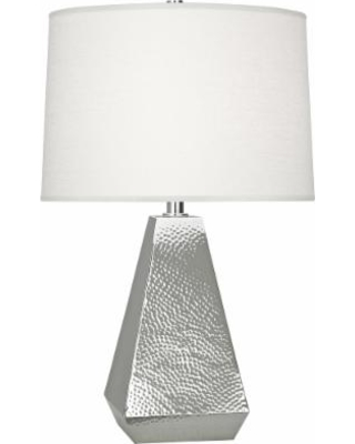 labor day sales on robert abbey dal polished nickel tapered table lamp