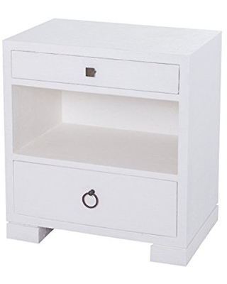 Sterling Home St. Kitts Side accent table, White