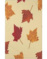 """August Grove Baden Dancing Leaves Flower Print Throw Blanket AGGR6916 Size: 50"""" H x 60"""" W x 0.5"""" D, Color: Yellow"""