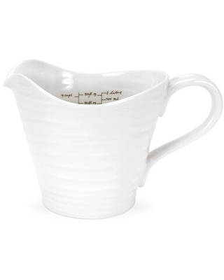 Portmeirion Sophie Conran White 4-Cup Measuring Cup