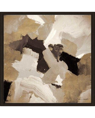 Amazing Deal On Wrought Studio Muted Abstract Ii Framed