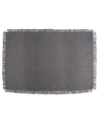 Design Imports Jute Placemats in Grey (Set of 6)