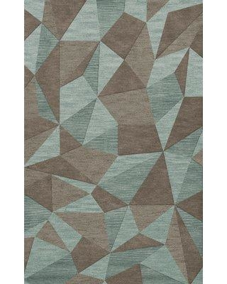 Brayden Studio Lela Gray/Brown Area Rug W001587550 Rug Size: Rectangle 9' x 12'