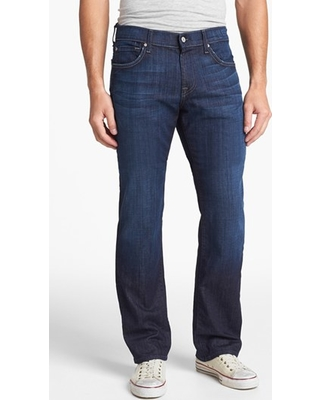 Men's 7 For All Mankind Austyn Relaxed Straight Leg Jeans, Size 29 x 34 - Blue