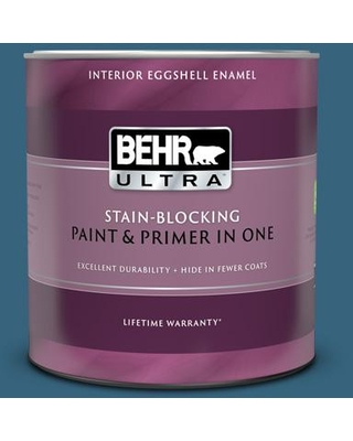 BEHR ULTRA 1 qt. #550D-7 Southern Evening Eggshell Enamel Interior Paint and Primer in One