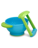 NUK® Mash & Serve Bowl with Masher to Prep and Serve Baby Food