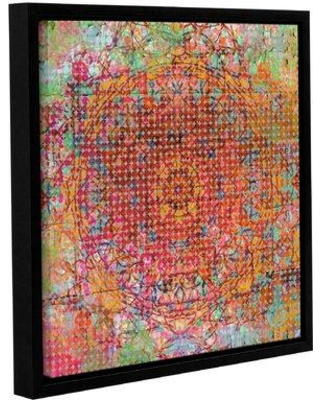 """Bloomsbury Market 'Moroccan Pattern I' Framed Graphic Art Print on Canvas BLMT4058 Size: 24"""" H x 24"""" W x 2"""" D"""