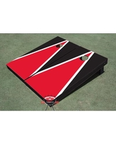 All American Tailgate Matching Triangle Cornhole Board ALMT1072 Color: Red and Black