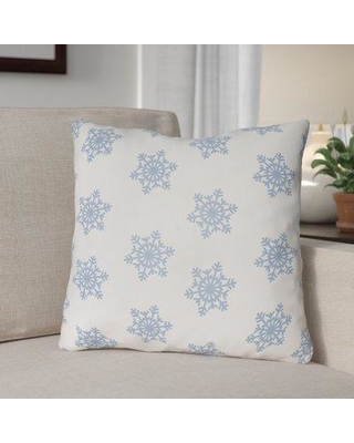 Don T Miss Sales On The Holiday Aisle Snowflake Indoor Outdoor Throw Pillow Polyester Polyfill Polyester Polyester Blend In White Blue Size 20 H X 20 W X 4 D