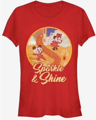 Disney Mickey Mouse Sparkle And Shine Girls T-Shirt