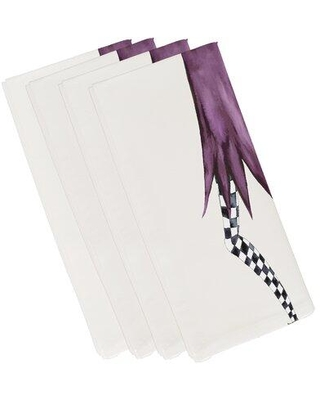 Shop For The Holiday Aisle Maser Halloween 4 Piece Napkin Set Polyester In Off White Size 22 L X 22 W Wayfair B248e51faf9d4d0998b95c13445718f3