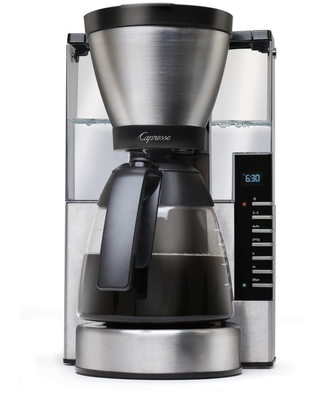 Capresso 10-Cup Rapid Brew Coffee Maker with Glass Carafe MG900 - Stainless Steel 497.05