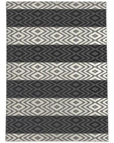 Great Sales On Mabini Geometric Charcoal Gray Area Rug Foundry Select Rug Size Rectangle 3 X 5