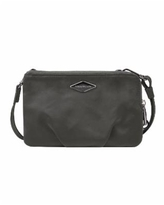 Travelon Anti-Theft Parkview Double Zip Crossbody Clutch - Charcoal