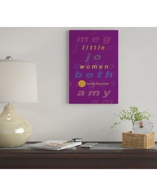 "East Urban Home 'Little Women By Robert Wallman' By Creative Action Network Graphic Art Print on Wrapped Canvas FVNF4374 Size: 26"" H x 18"" W x 0.75"" D"