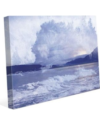 """Click Wall Art Rush Painting Print on Wrapped Canvas RBH0000561CAN Size: 20"""" H x 24"""" W x 1.5"""" D"""