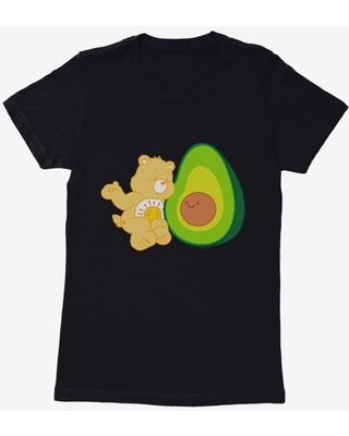 Care Bears Funshine Bear Avocado Womens T-Shirt