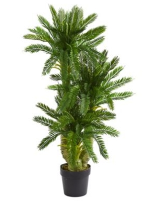 Nearly Natural 42-Inch Artificial Triple Cycas Plant