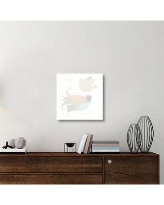 """East Urban Home 'Cozy Hygge III' Graphic Art Print on Canvas UBAH6319 Size: 24"""" H x 24"""" W x 1.5"""" D"""
