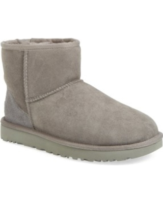 18eee5a5b55 UGGR Women's Ugg Classic Mini Ii Genuine Shearling Lined Boot, Size 5 M -  Grey from NORDSTROM | more