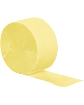 Mimosa Yellow Party Streamers