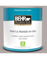 Savings On Behr Premium Plus 1 Qt N140 6 Wright Brown Eggshell Enamel Low Odor Interior Paint And Primer In One