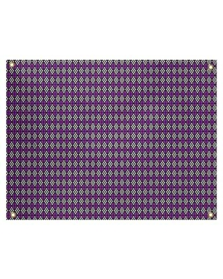 Find Deals On Latitude Run Avicia Diamonds By Katelyn Elizabeth Tapestry Location Indoor Polyester In Purple Black Size 91 H X 107 5 W Wayfair
