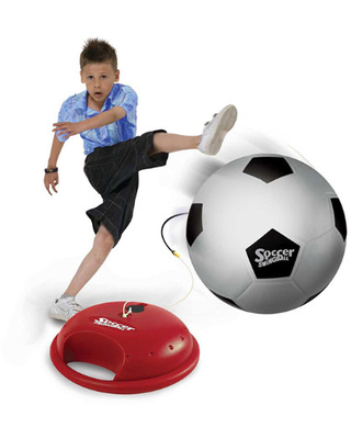 Mookie Swingball Reflex Soccer - Active Play for Ages 6 to 8 - Fat Brain Toys