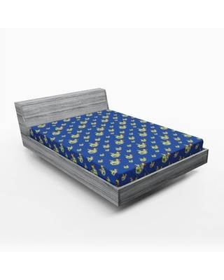 Submarine Fitted Sheet East Urban Home Size: Queen